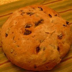 Kalamata Olive and Garlic Bread