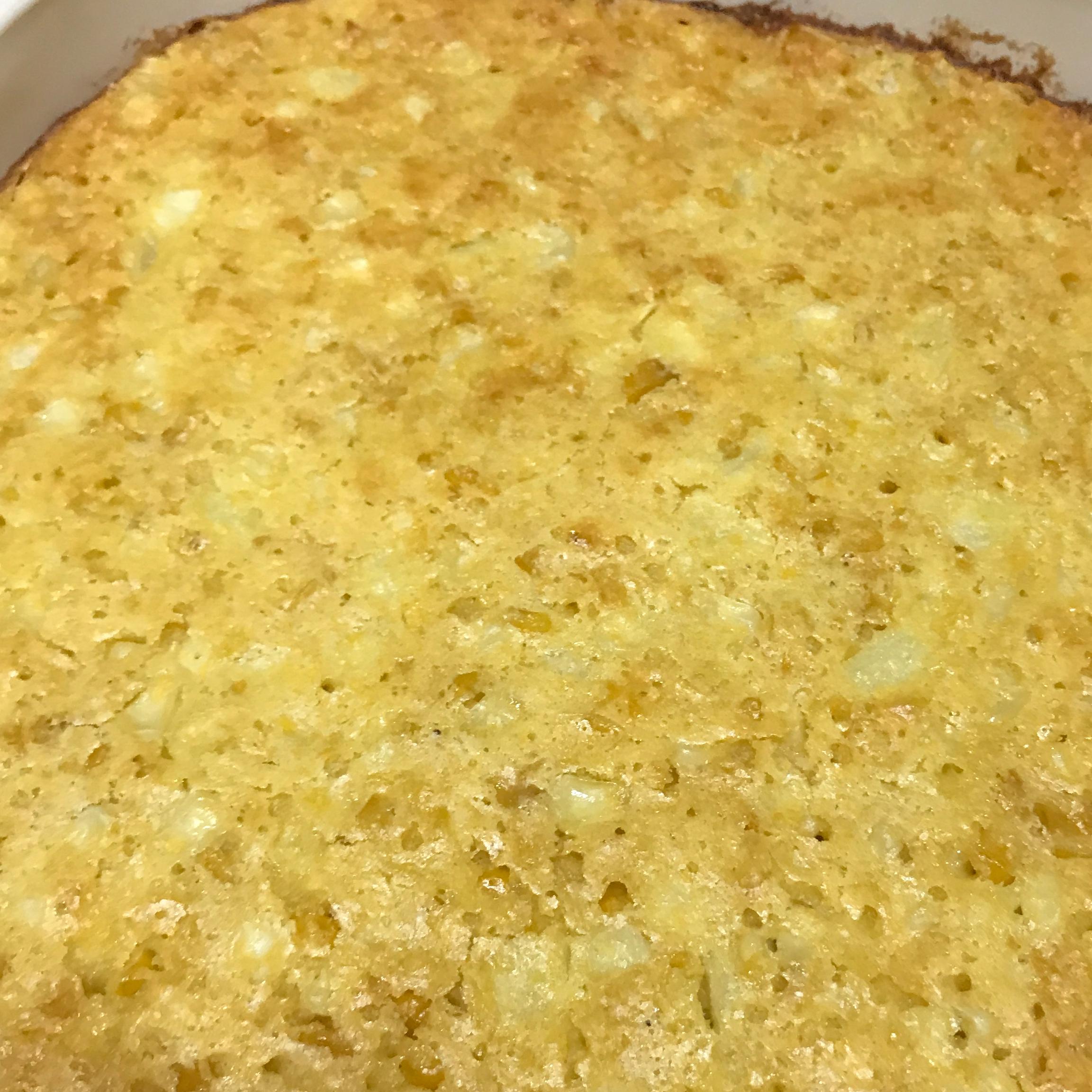 Sweet White Corn Casserole korenae