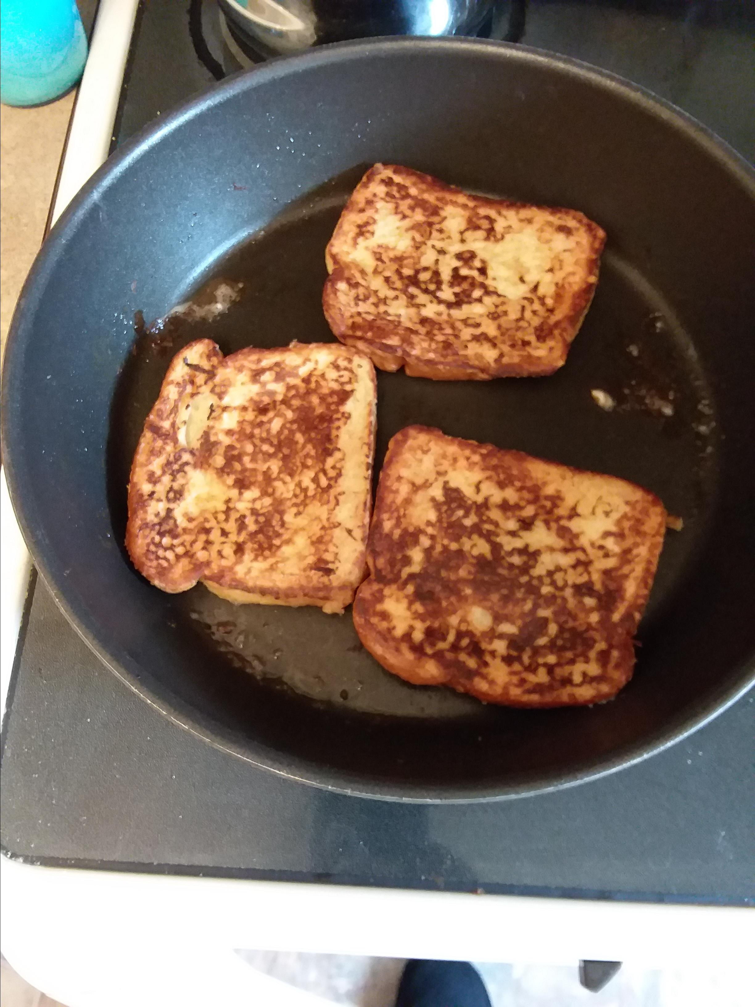 Buttermilk French Toast with Maple Syrup Tyrone L. Hough