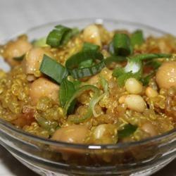 Spiced Quinoa tdufour