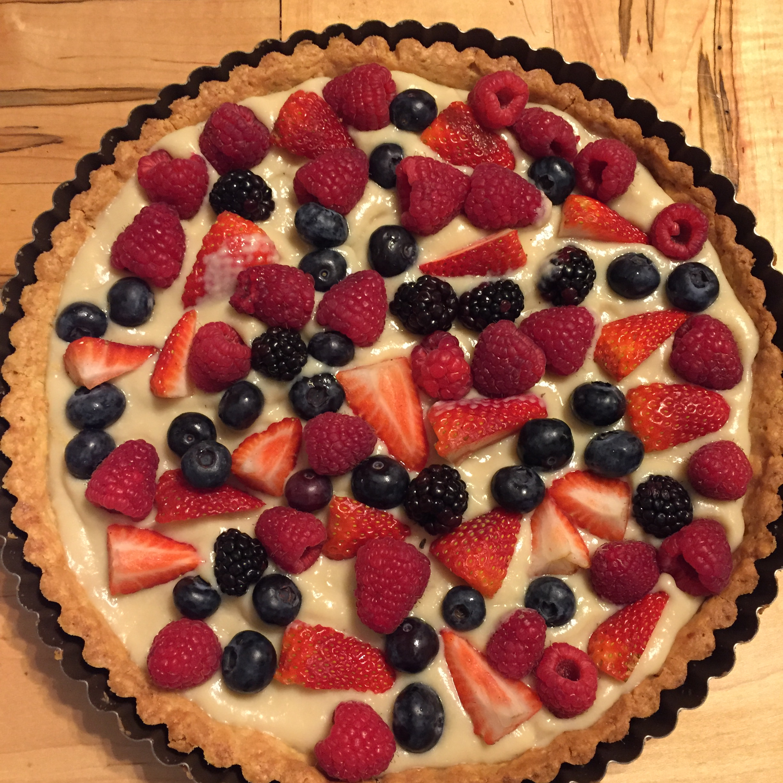 Summer Fruit Tart from Almond Breeze® WendyT8