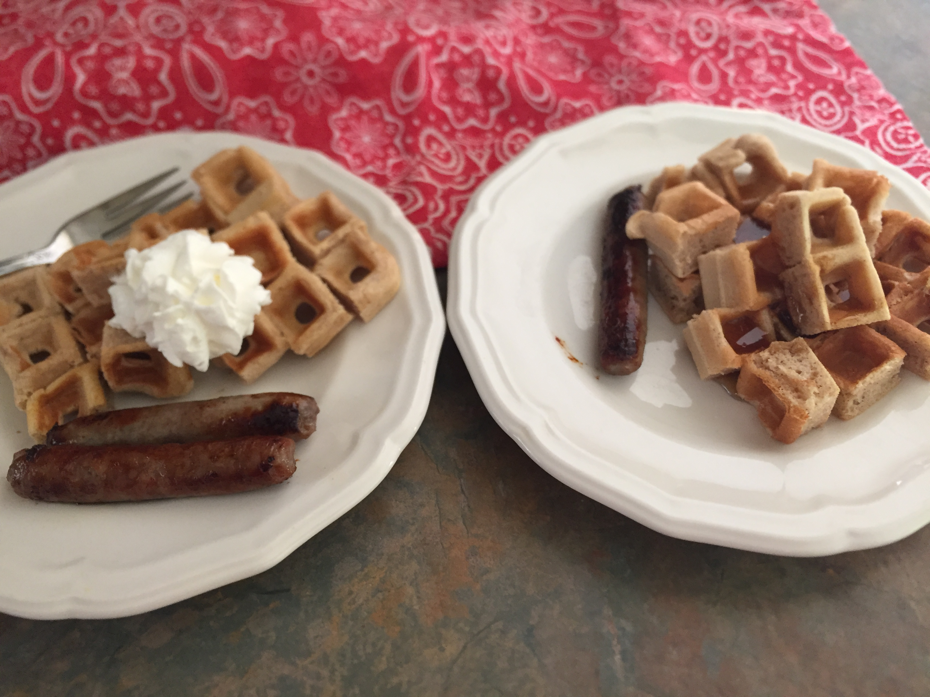 French Toast Waffles tcasa