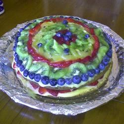 Fresh Fruit Cake Vanias