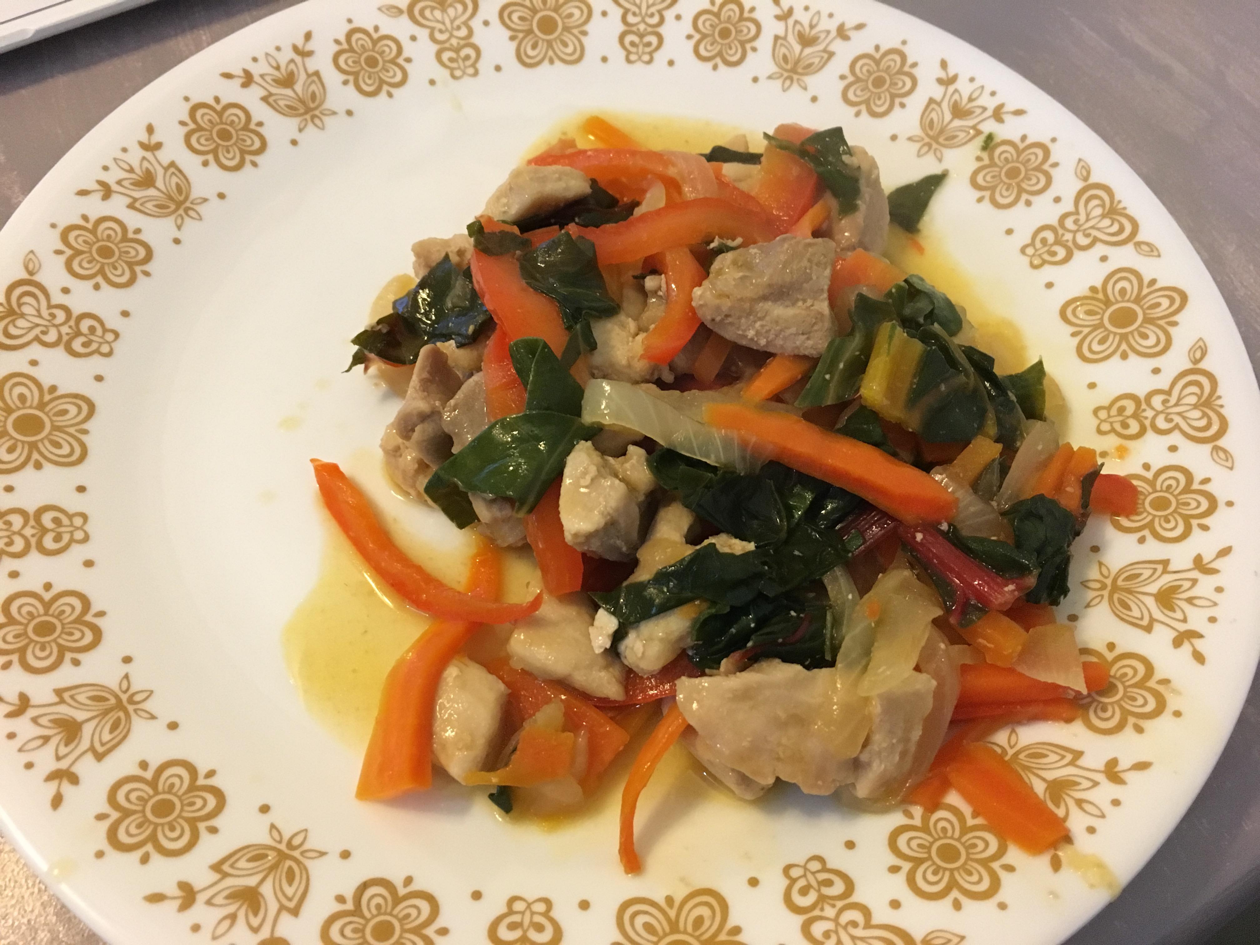 Chicken Chop Suey Stephanie