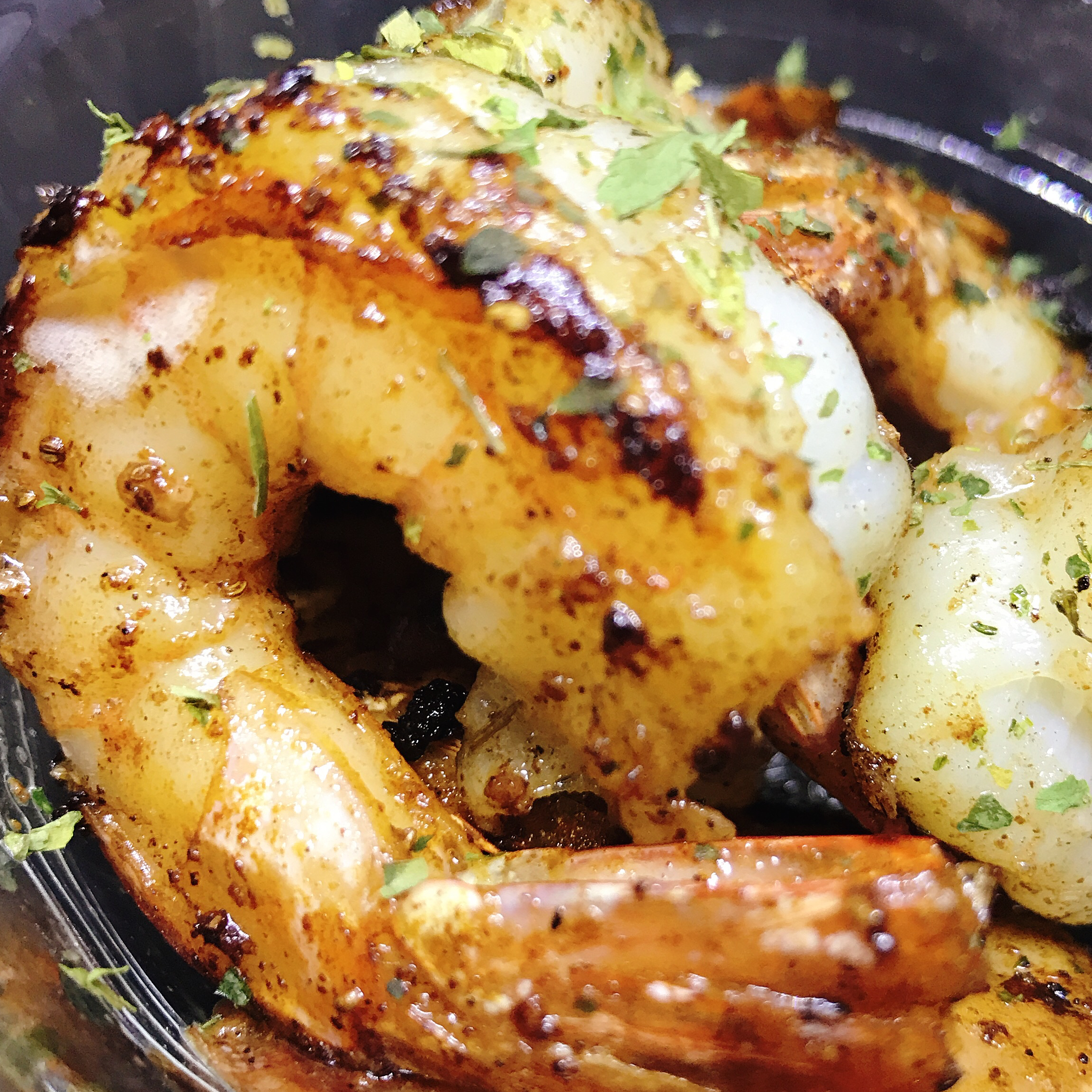 Tangy Lemon-Garlic Shrimp
