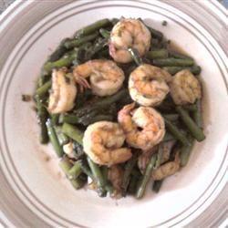 Jumbo Shrimp and Asparagus