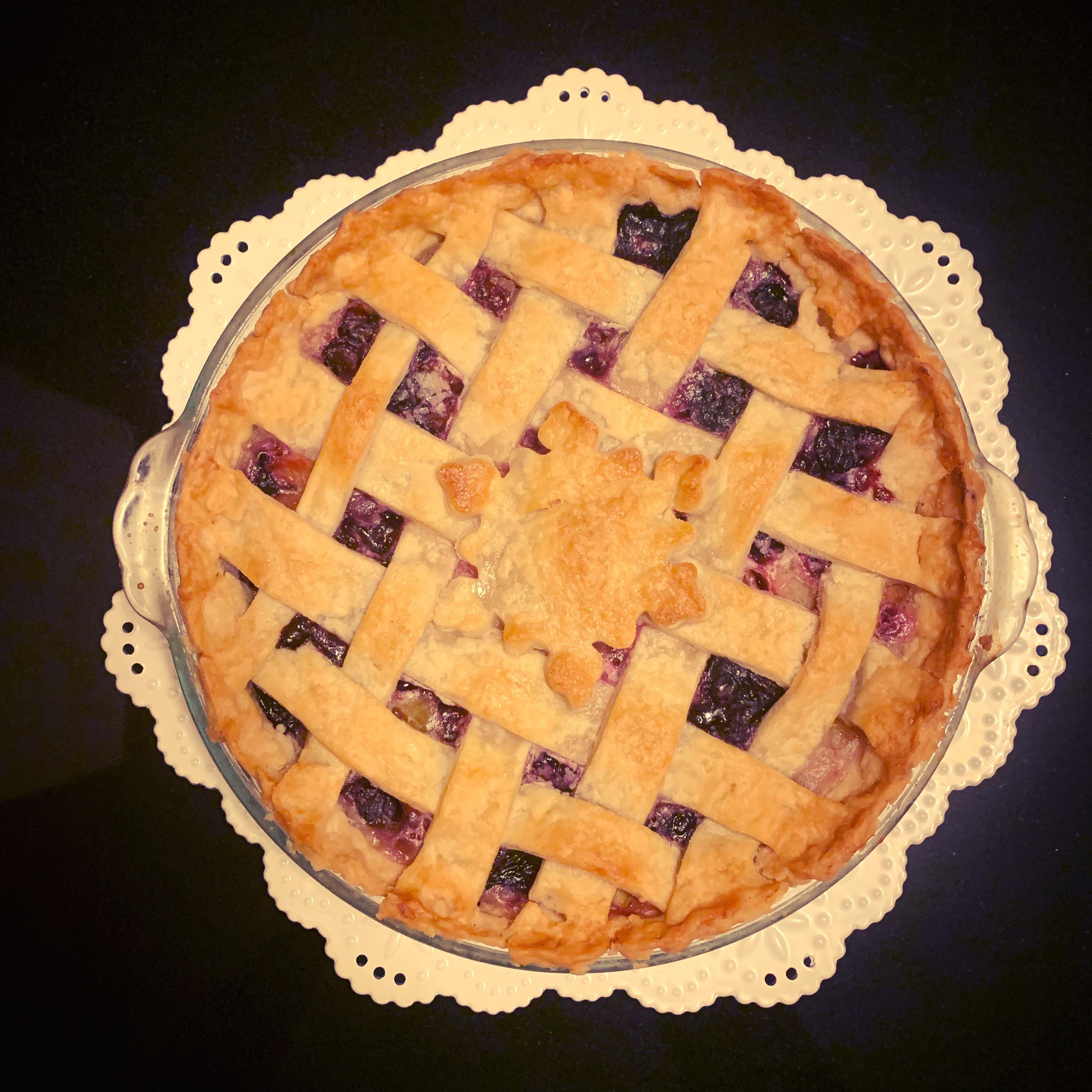 Bluebarb Pie Megan Tschumper