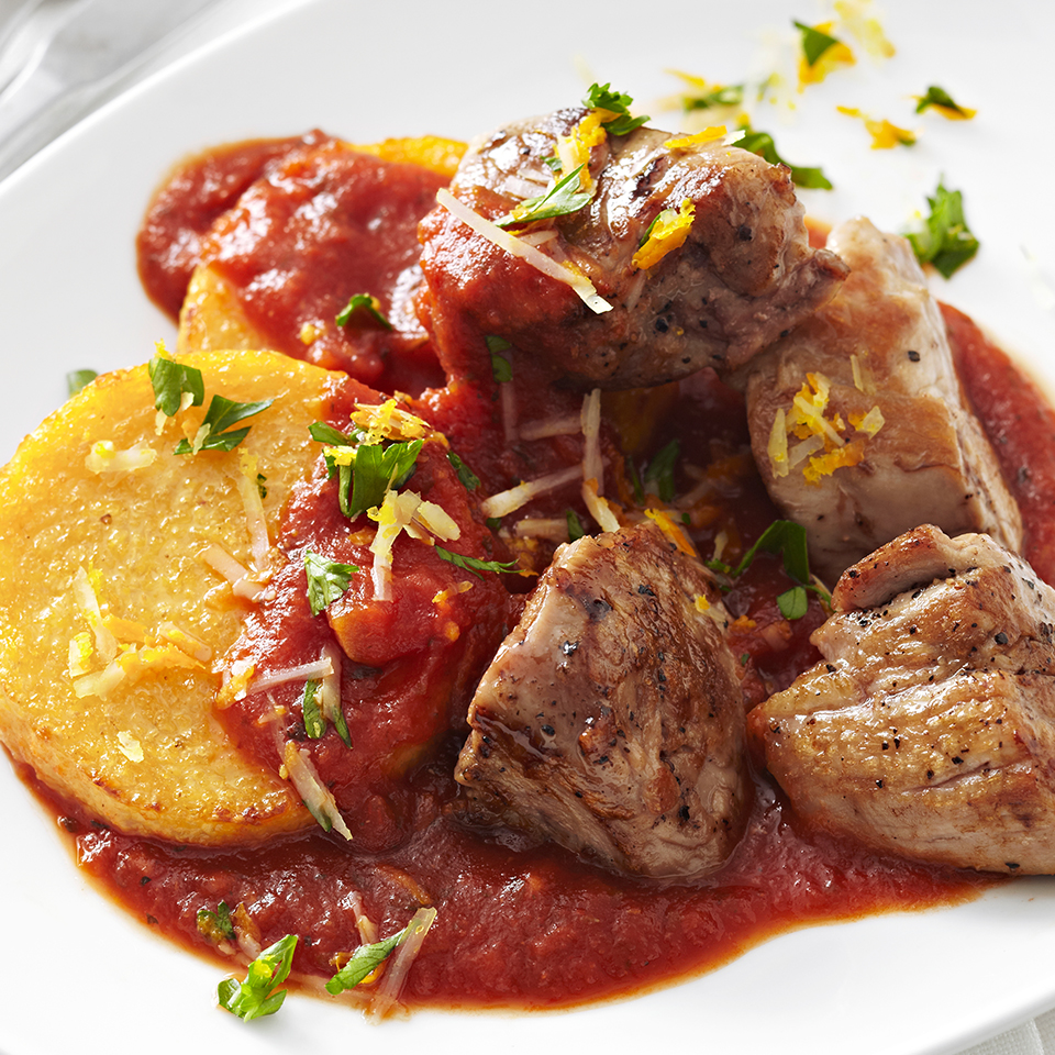 Pork Tenderloin with Polenta Diabetic Living Magazine