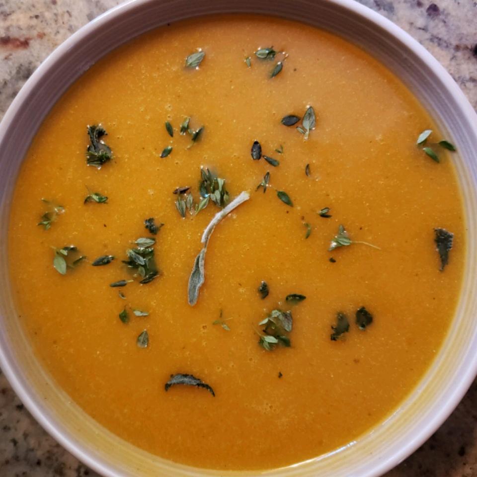 Instant Pot® Spicy Butternut Squash Soup