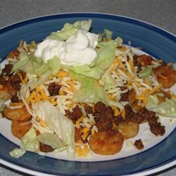 Tater Tot Taco Salad Katie Schumm
