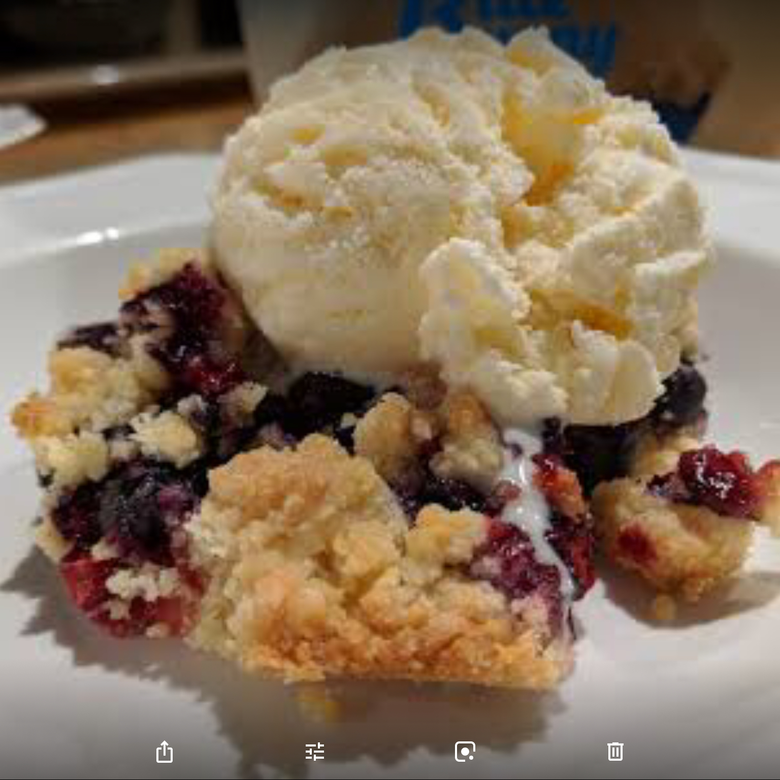The Ultimate Berry Crumble jsmith