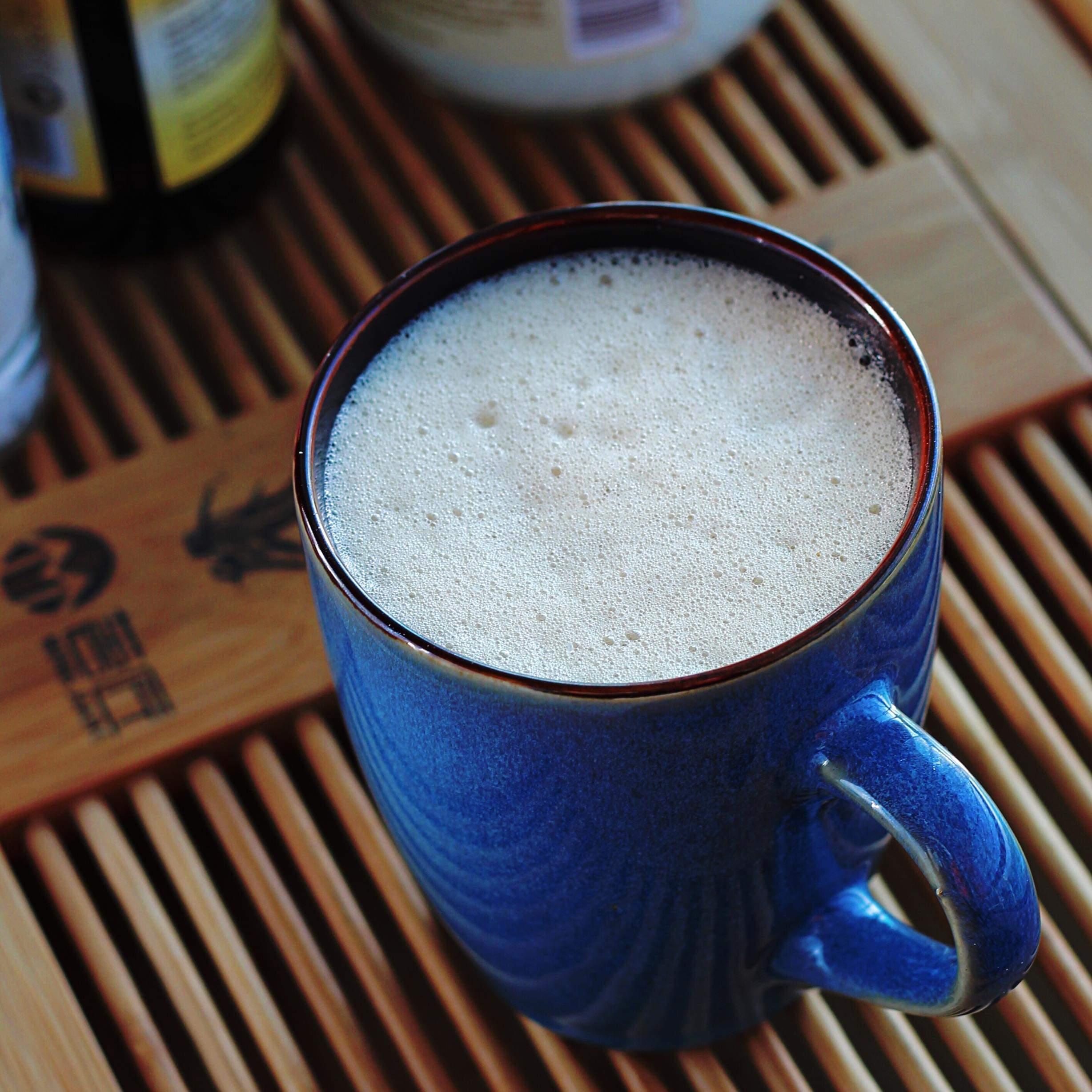 Salted Caramel Egg Coffee