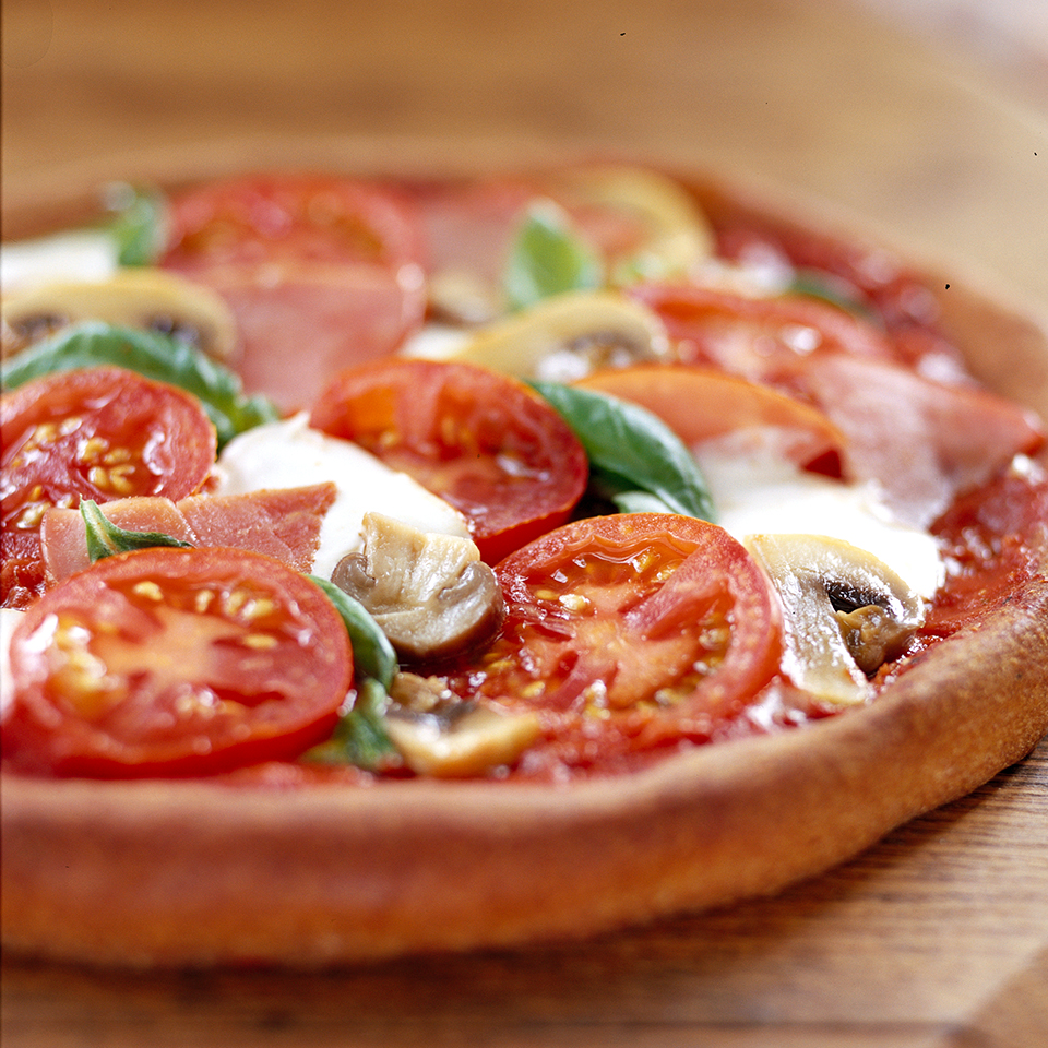 Whole-Wheat Pizza with the Works Trusted Brands