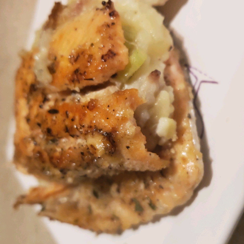 Applewood Smoked Bacon Mashed Stuffed Trout