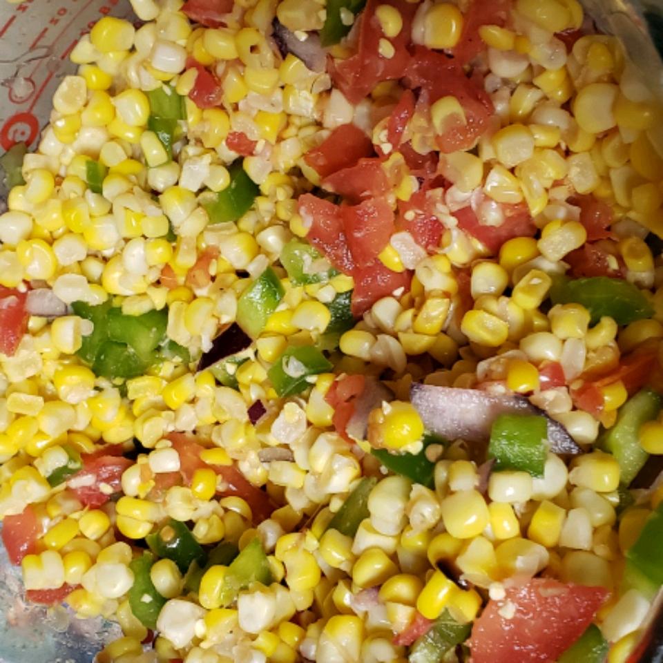Grilled Corn Salad Hunter Wruth