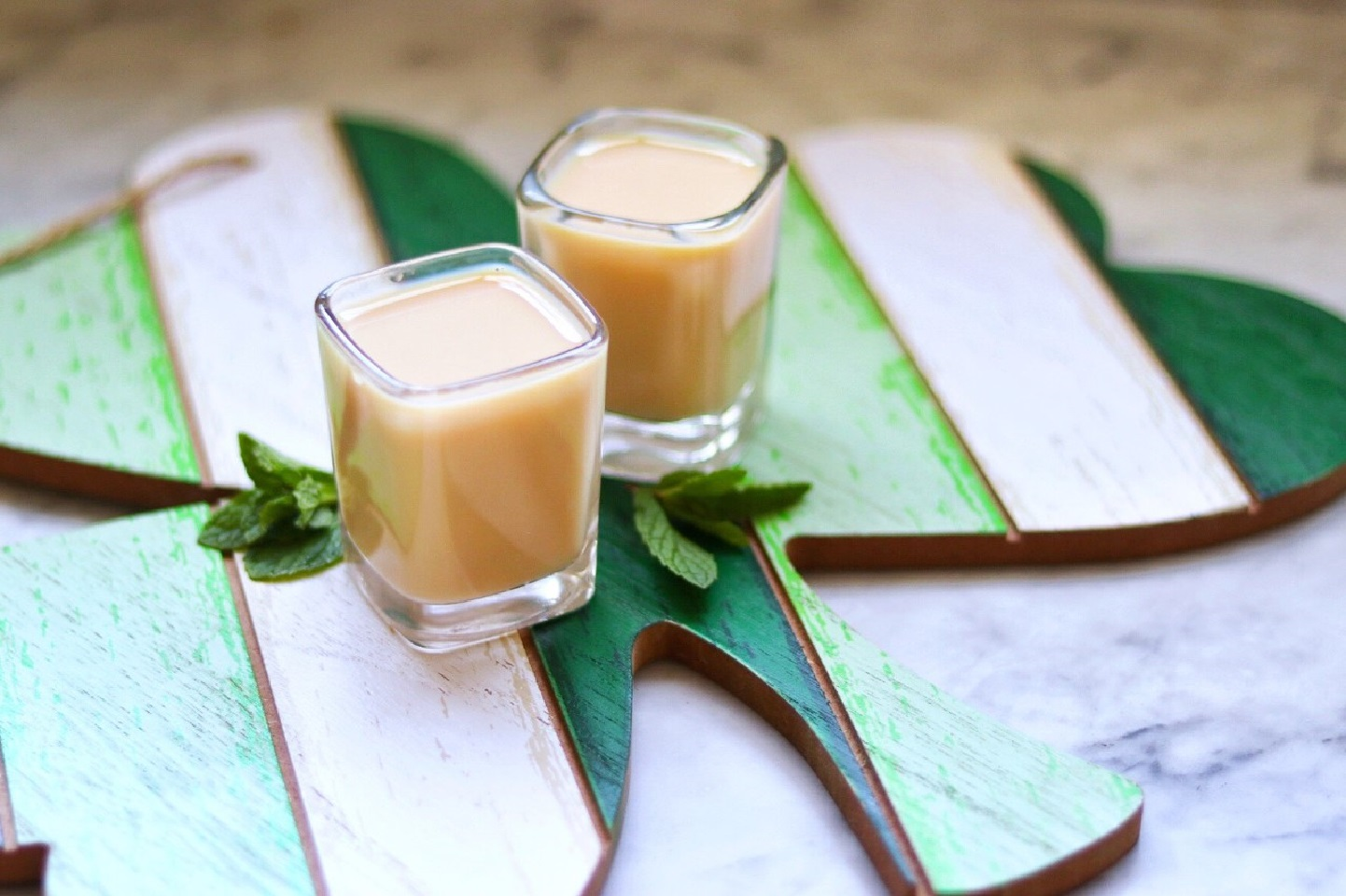 """This creamy St. Patrick's Day shot has a kiss of mint with the addition of a splash of creme de menthe,"" says fabeverydayblog.                                   Add a shot of Irish Wisdom: It is better to spend money like there's no tomorrow than to spend tonight like there's no money."