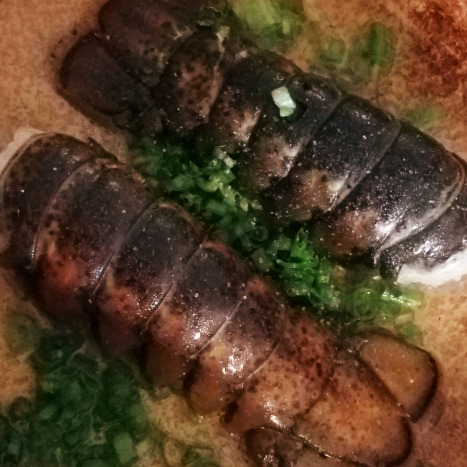 Lobster Tails in Champagne