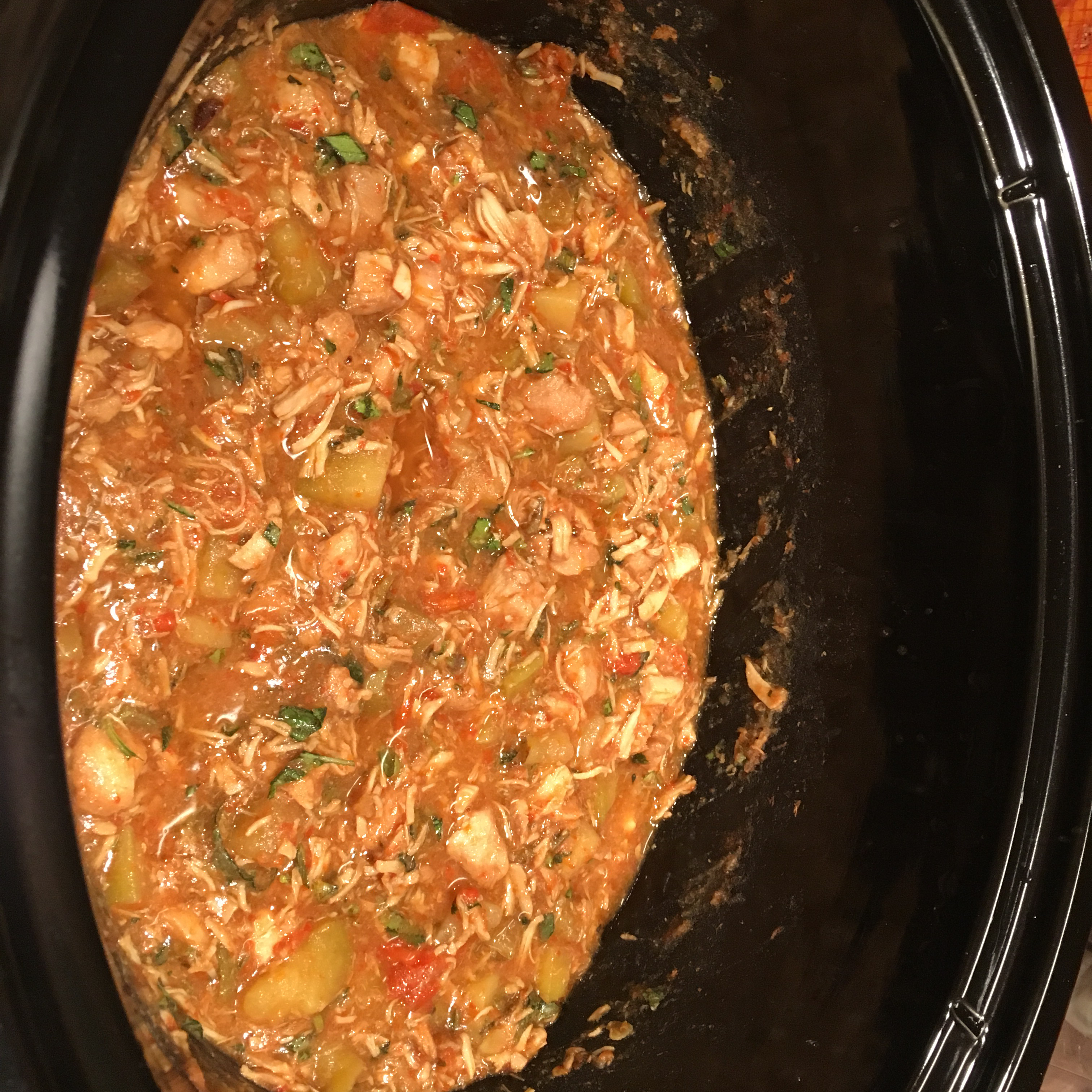 Easy Slow Cooker Thai Chicken with Basil Uncle Buck