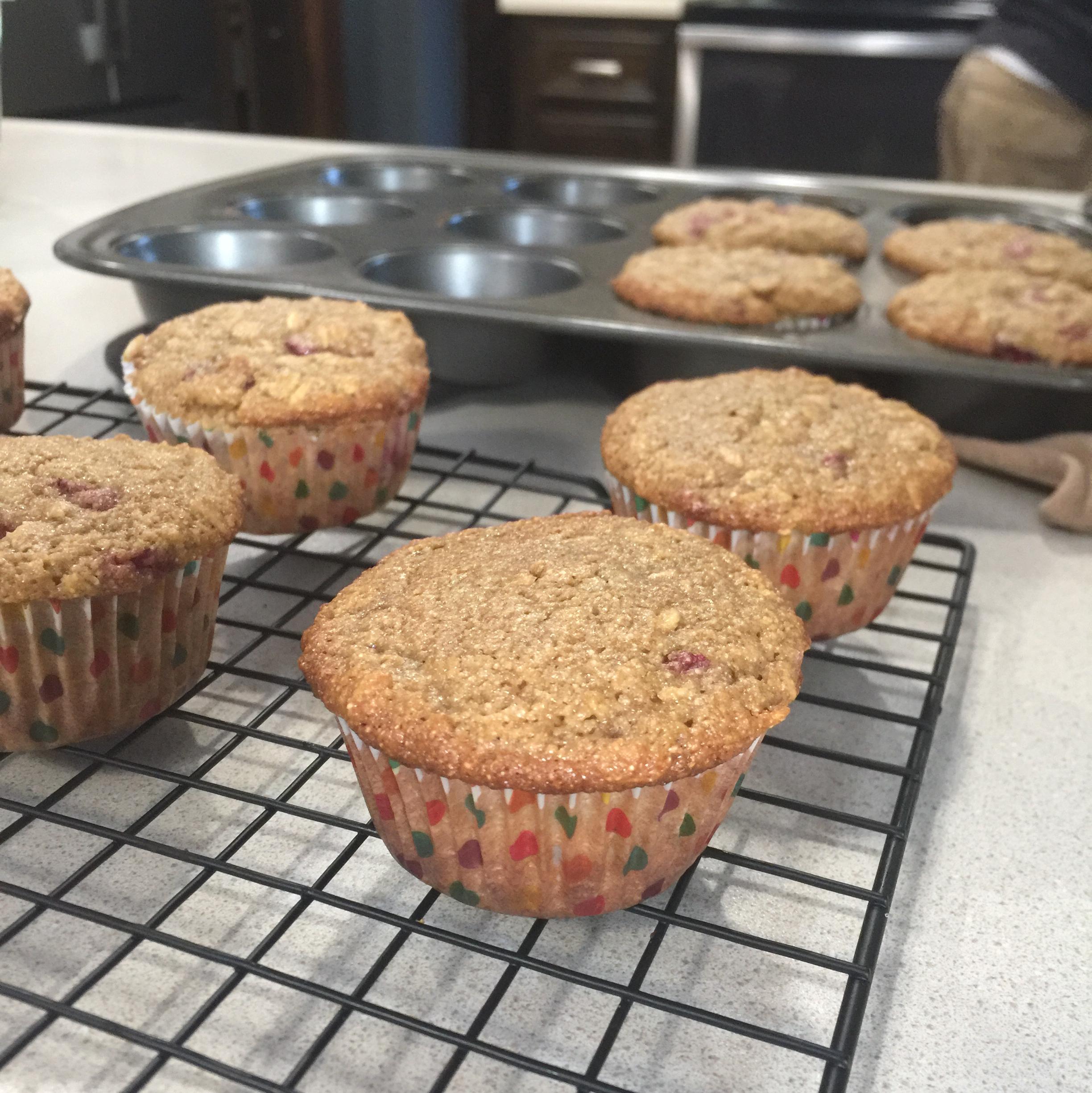 Strawberry Oat Muffins Jason Shaffer