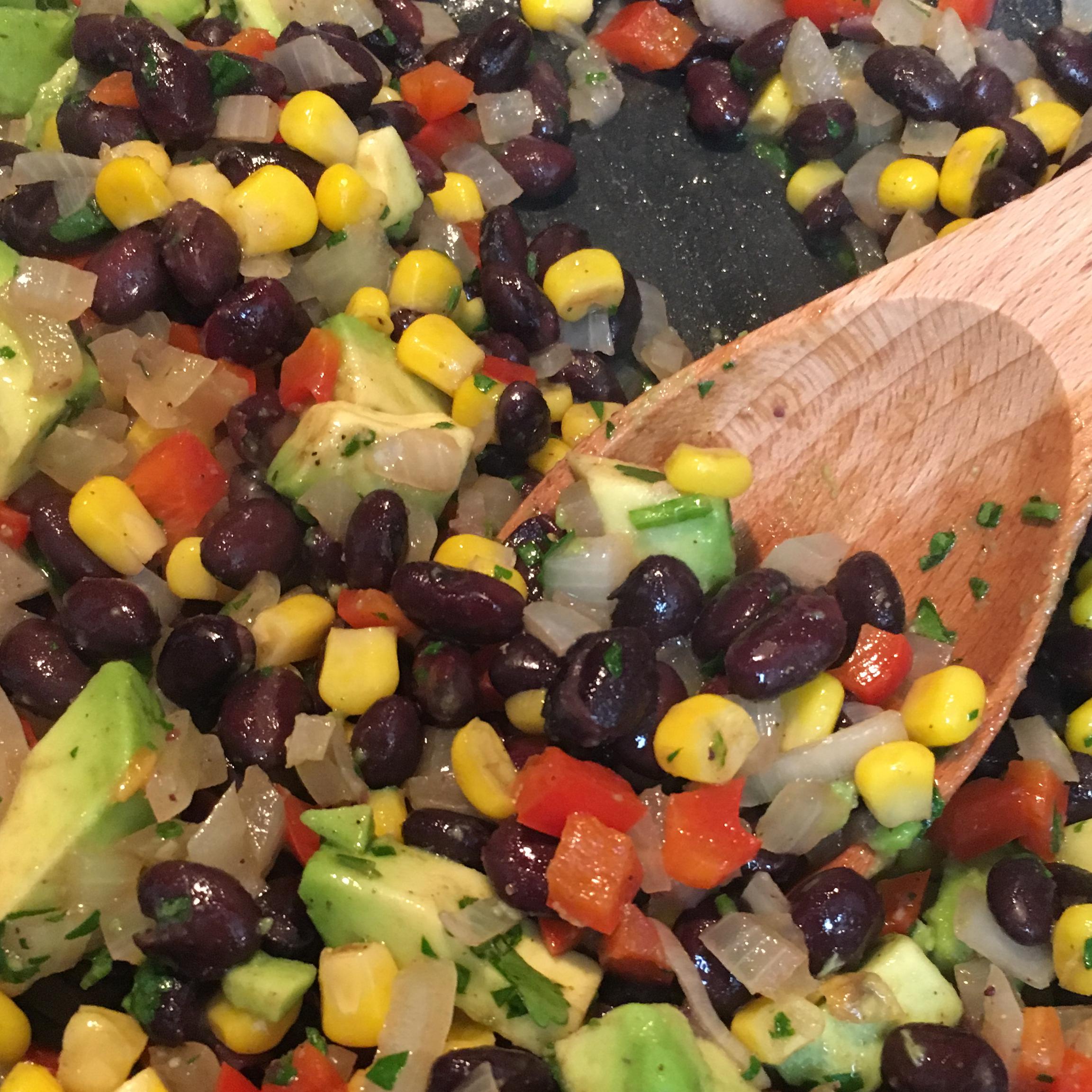 Fiesta Chicken and Black Beans Goya