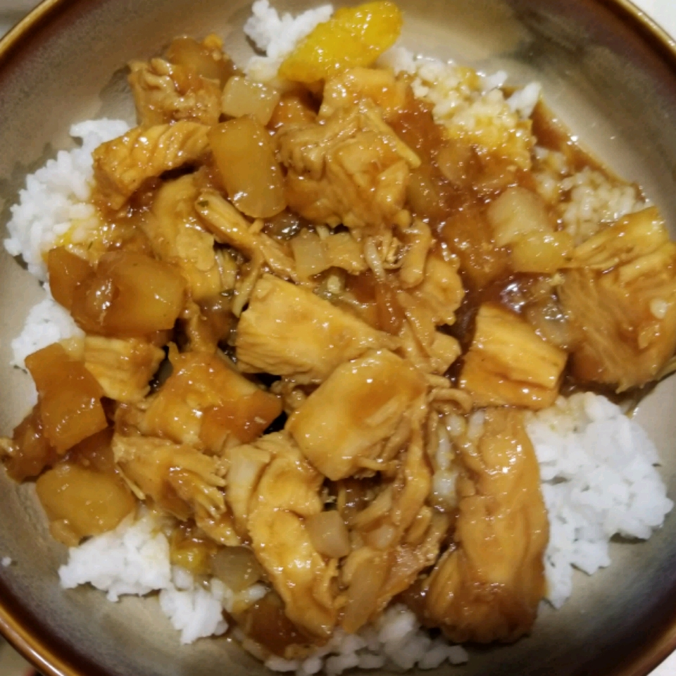 Slow Cooker Honey Garlic Chicken Kala Uebel