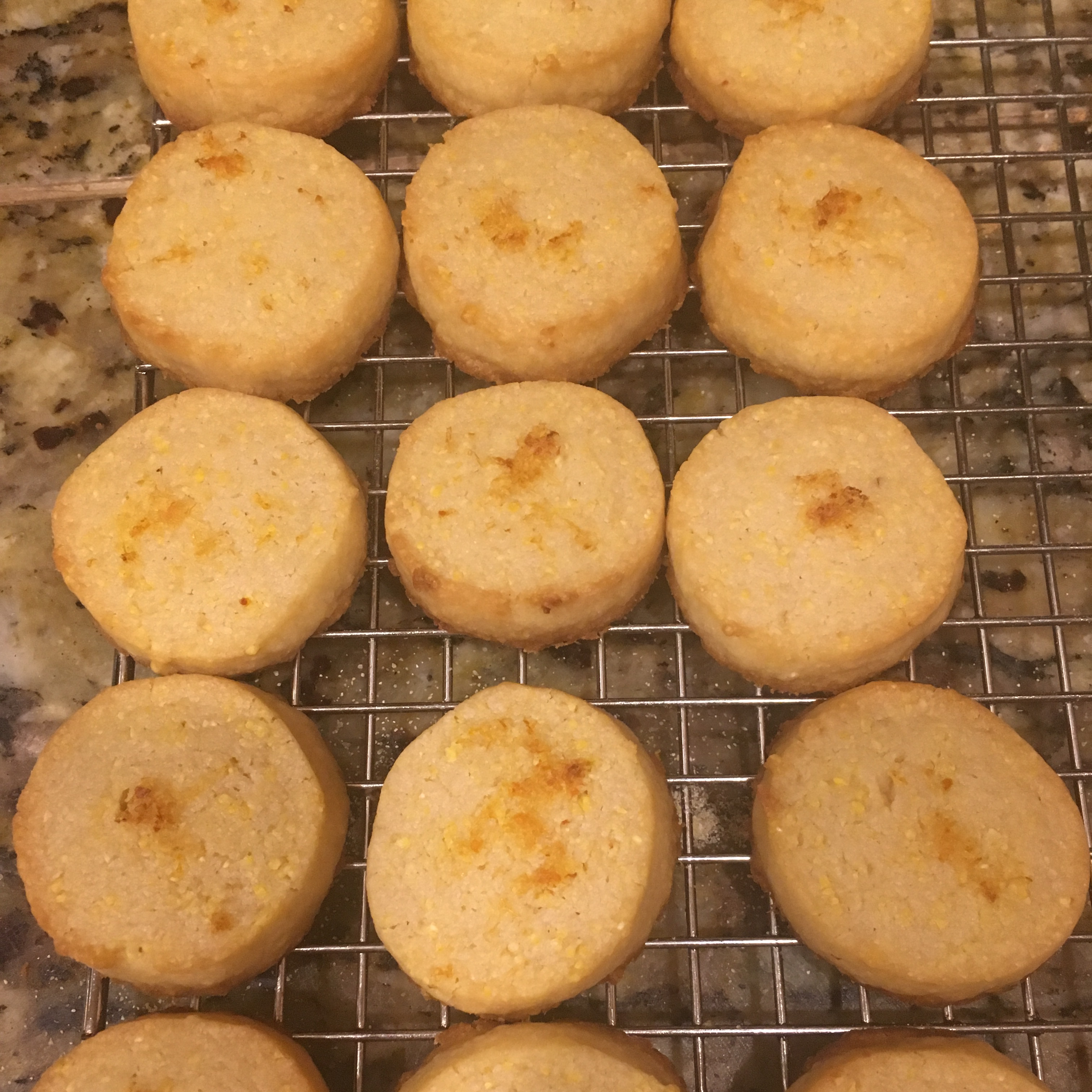 Lemon Polenta Biscuits Frittsy