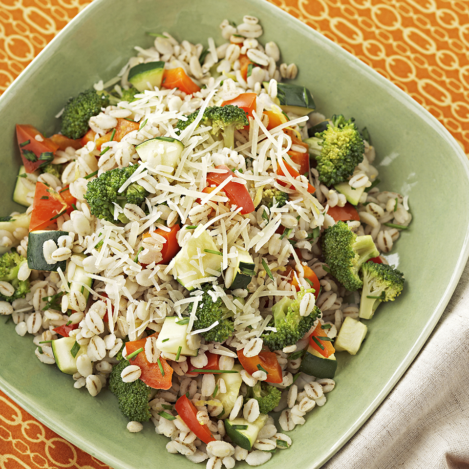 Barley-Vegetable Pilaf Diabetic Living Magazine