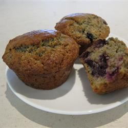 Blueberry Cornmeal Muffins