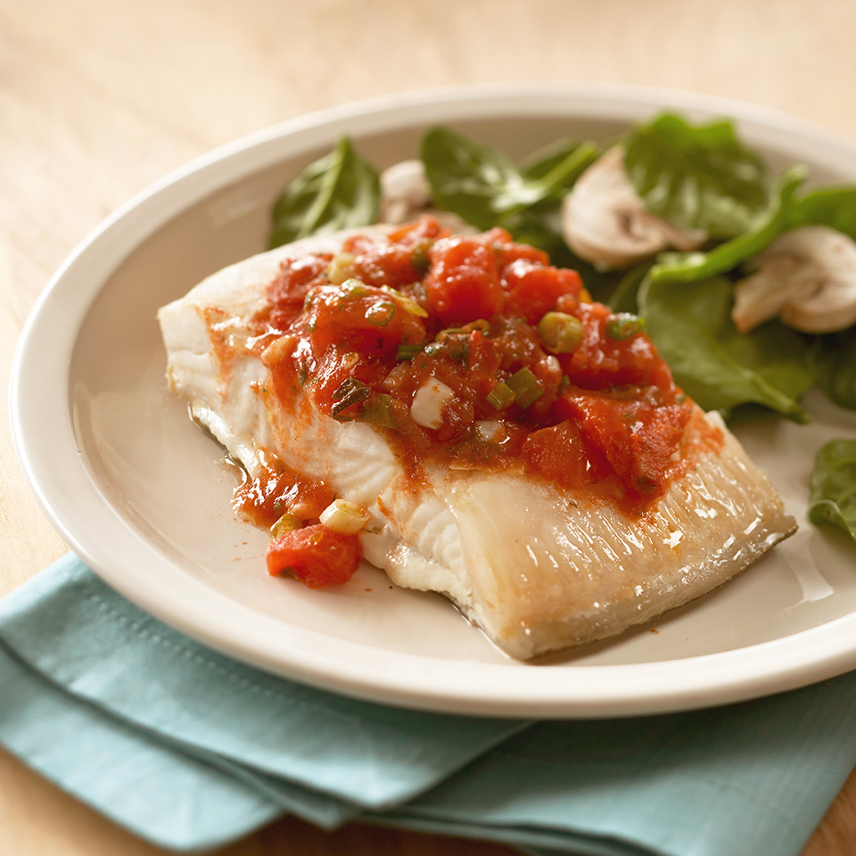 Halibut Veracruz Diabetic Living Magazine