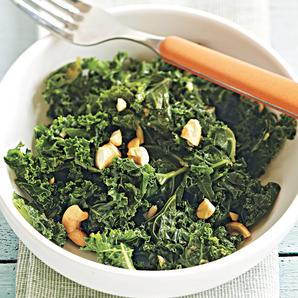 Miso-Ginger Kale Allrecipes Trusted Brands