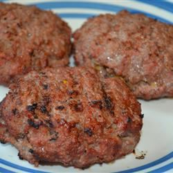 Easy Bacon, Onion and Cheese Stuffed Burgers Rebekah Rose Hills