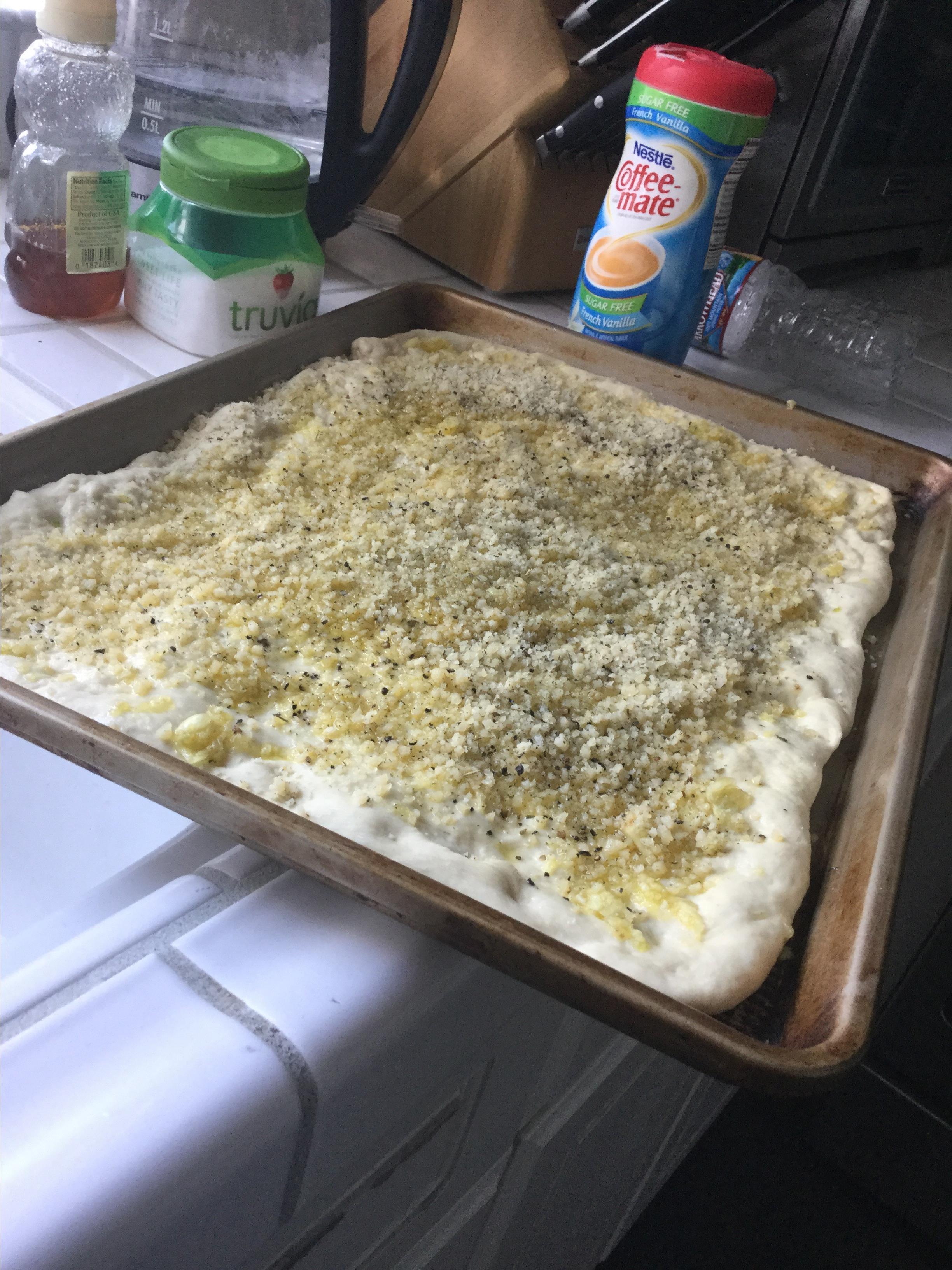 Deliciously Easy Garlic Herb Focaccia Kat Bresler