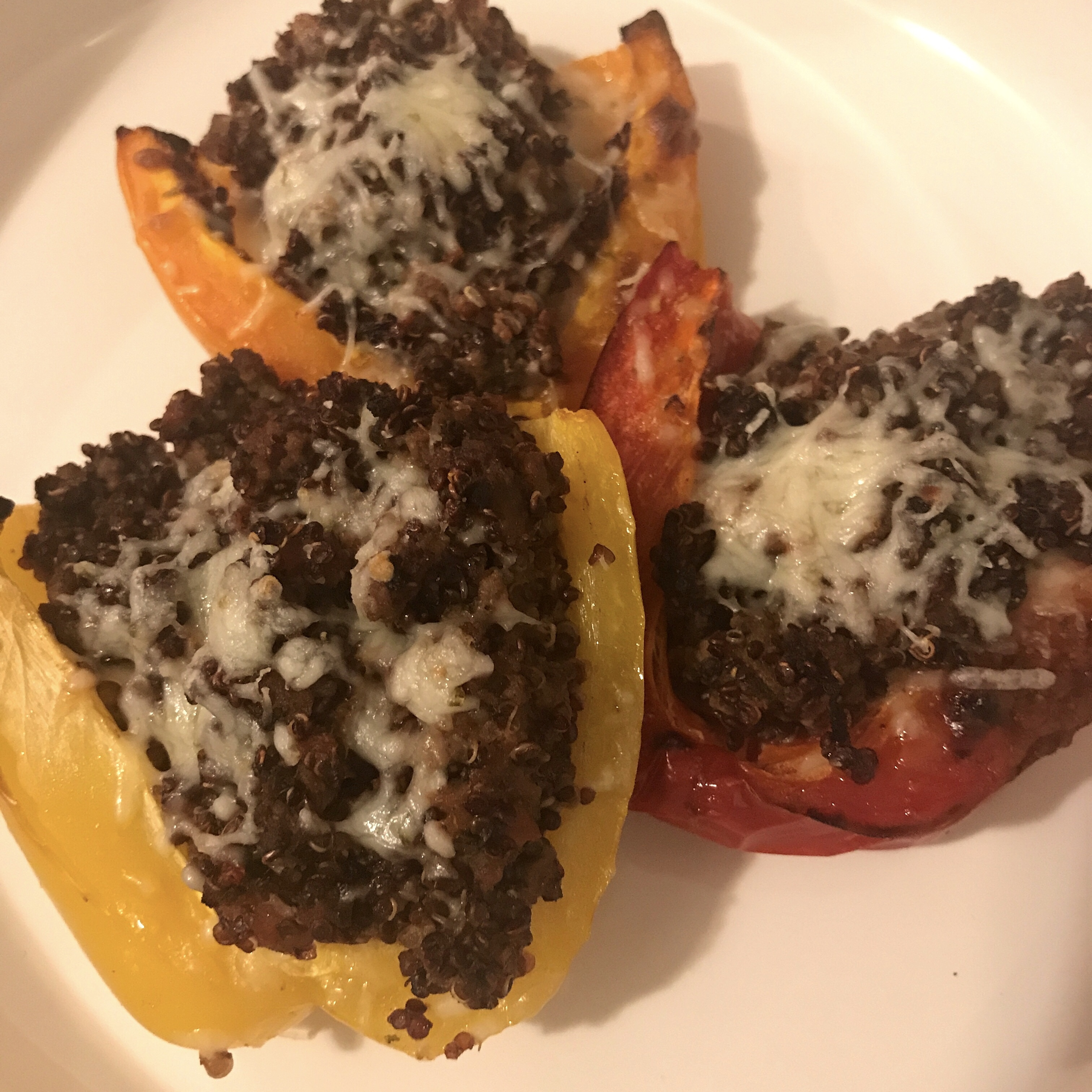 Mexican Stuffed Peppers with Quinoa ddmama