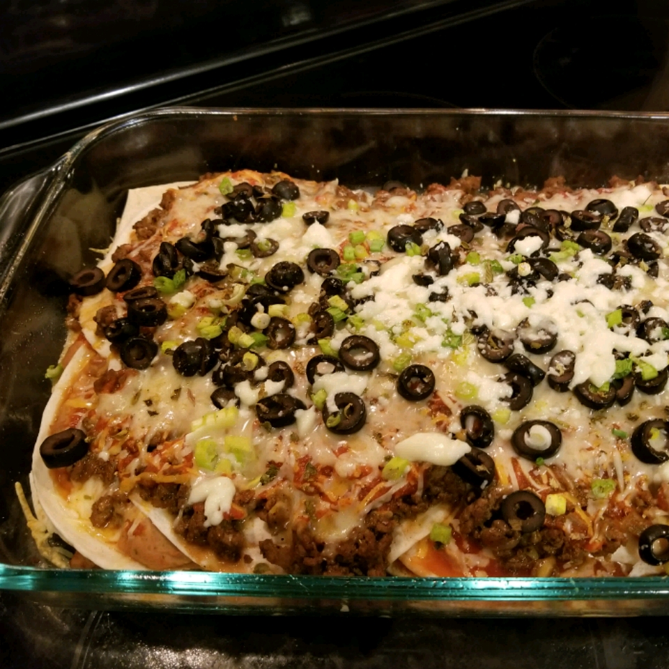 Mexican Lasagna - No Lasagna Noodles! Melody Banneck