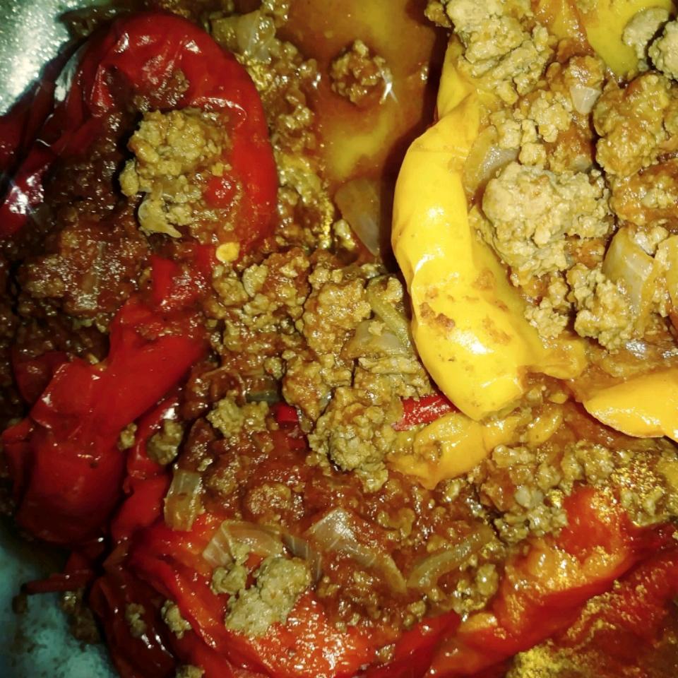 Instant Pot® Beef-Stuffed Peppers bpevytoe13