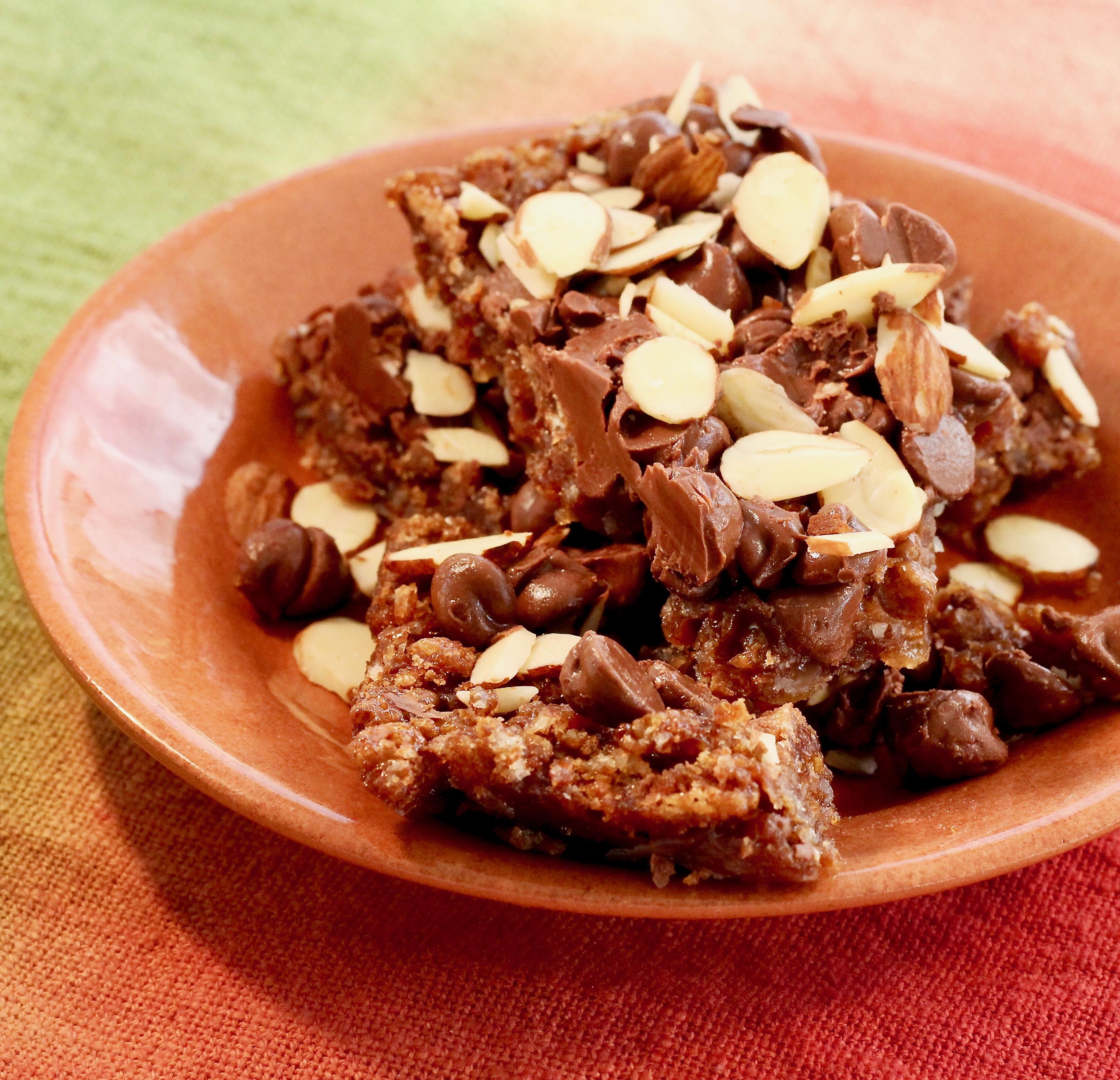 Chocolate Almond Treats