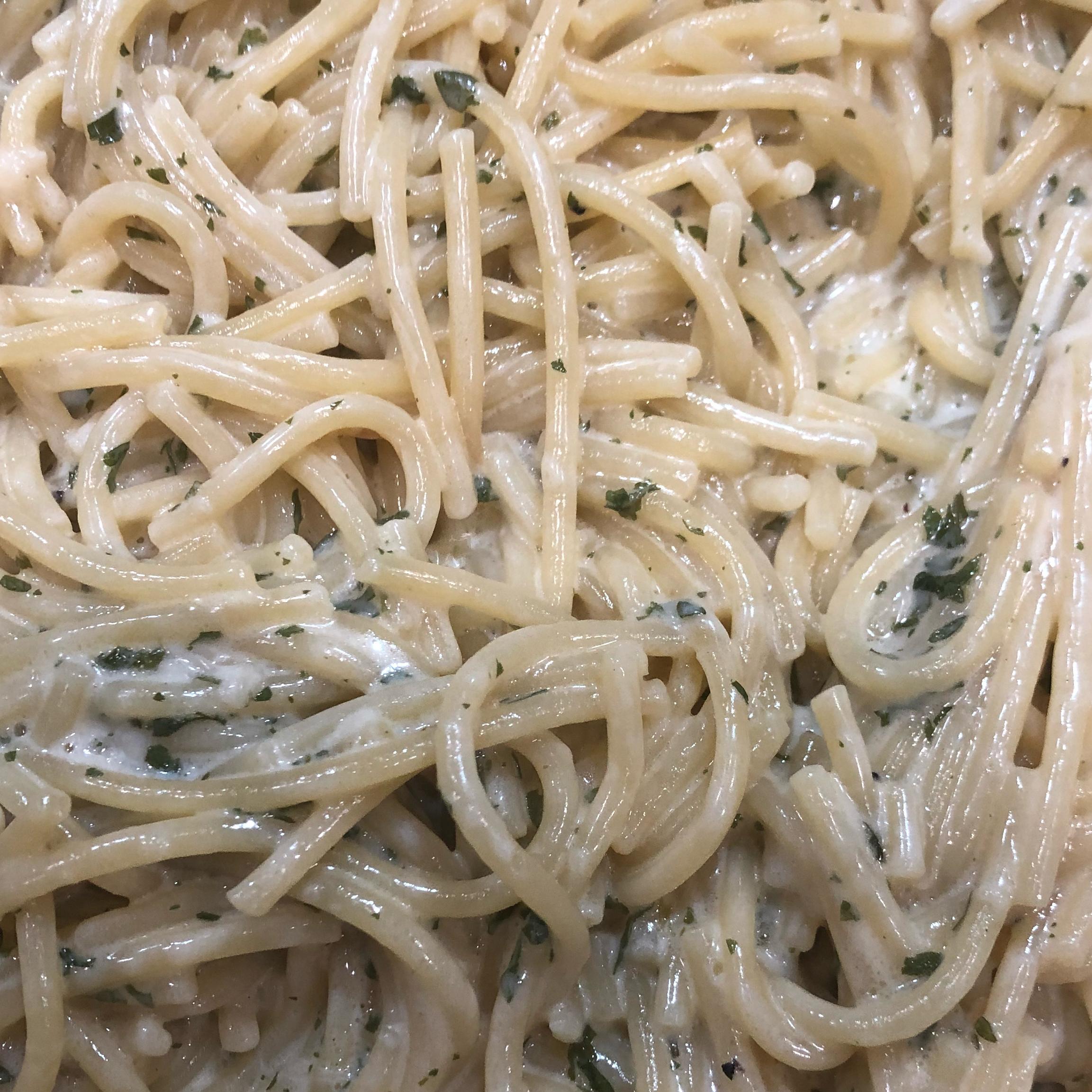 Creamy Garlic Pasta Erica1805