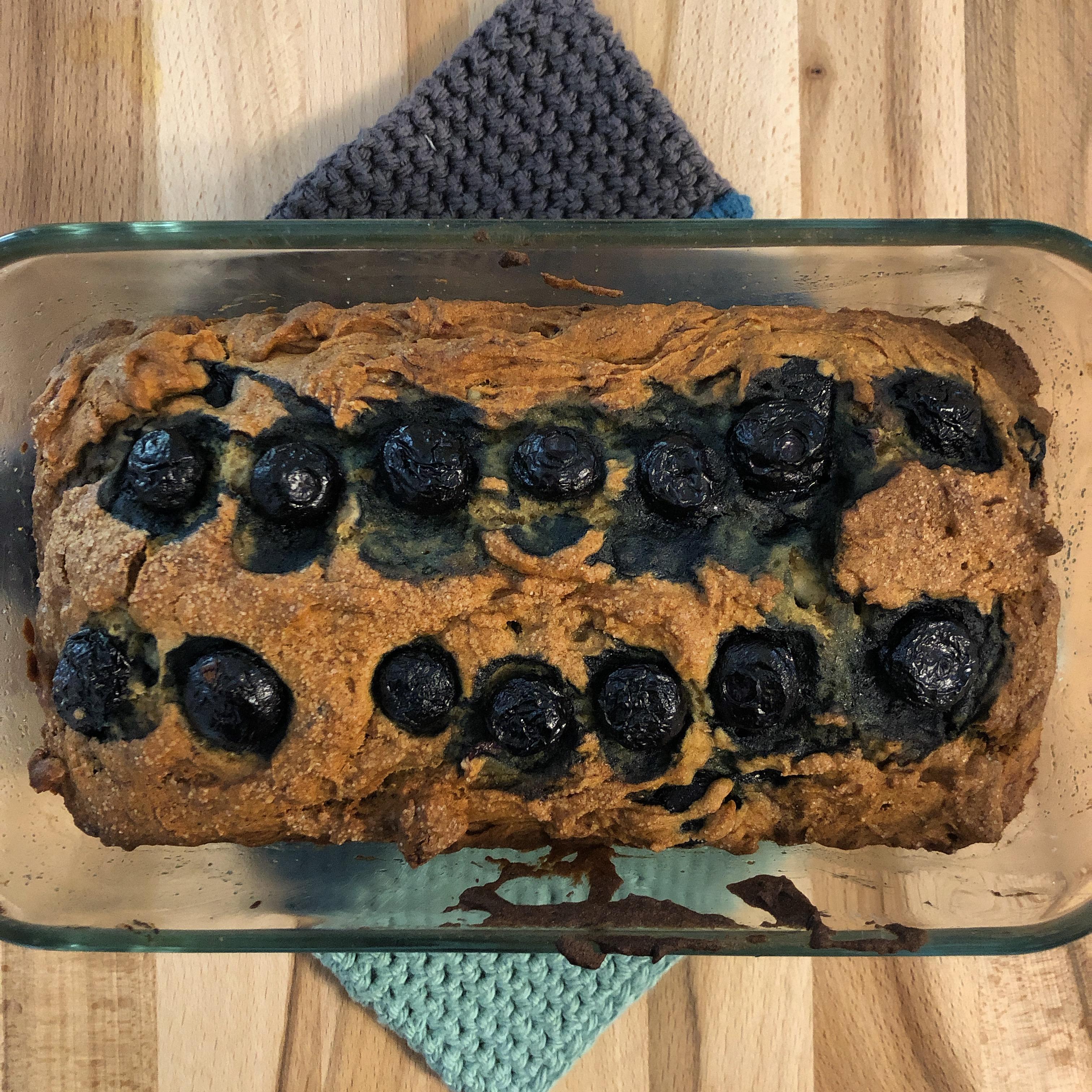 Blueberry Banana Bread Liz W