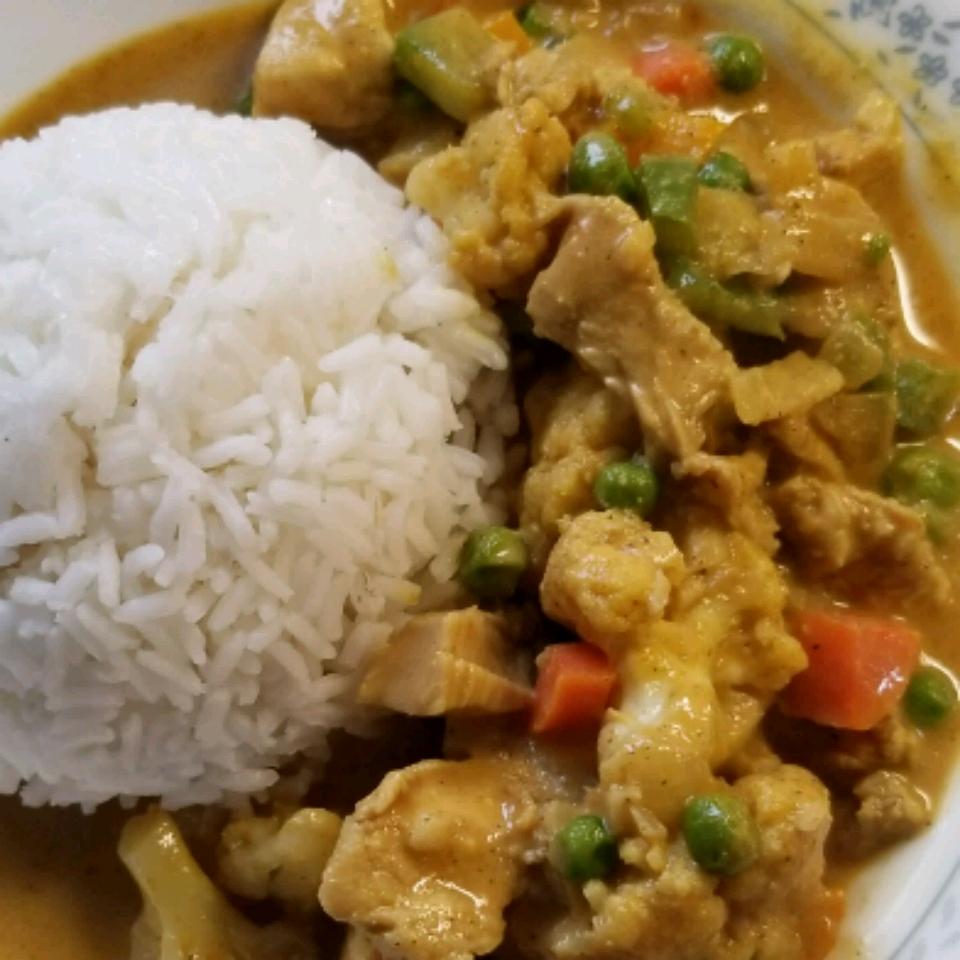 Chicken Cauliflower Korma NB Roy