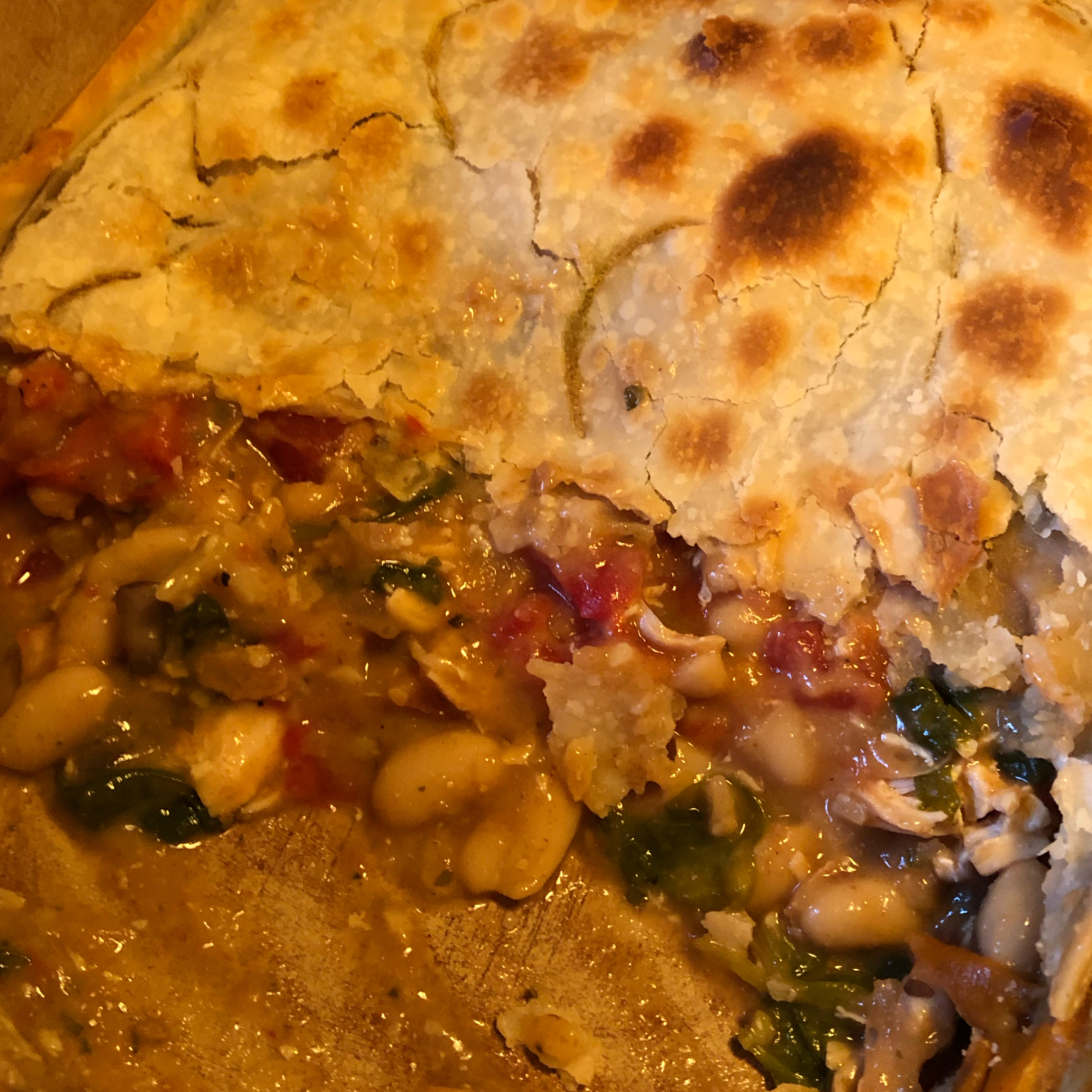 Tuscan Chicken Pot Pie Shawn