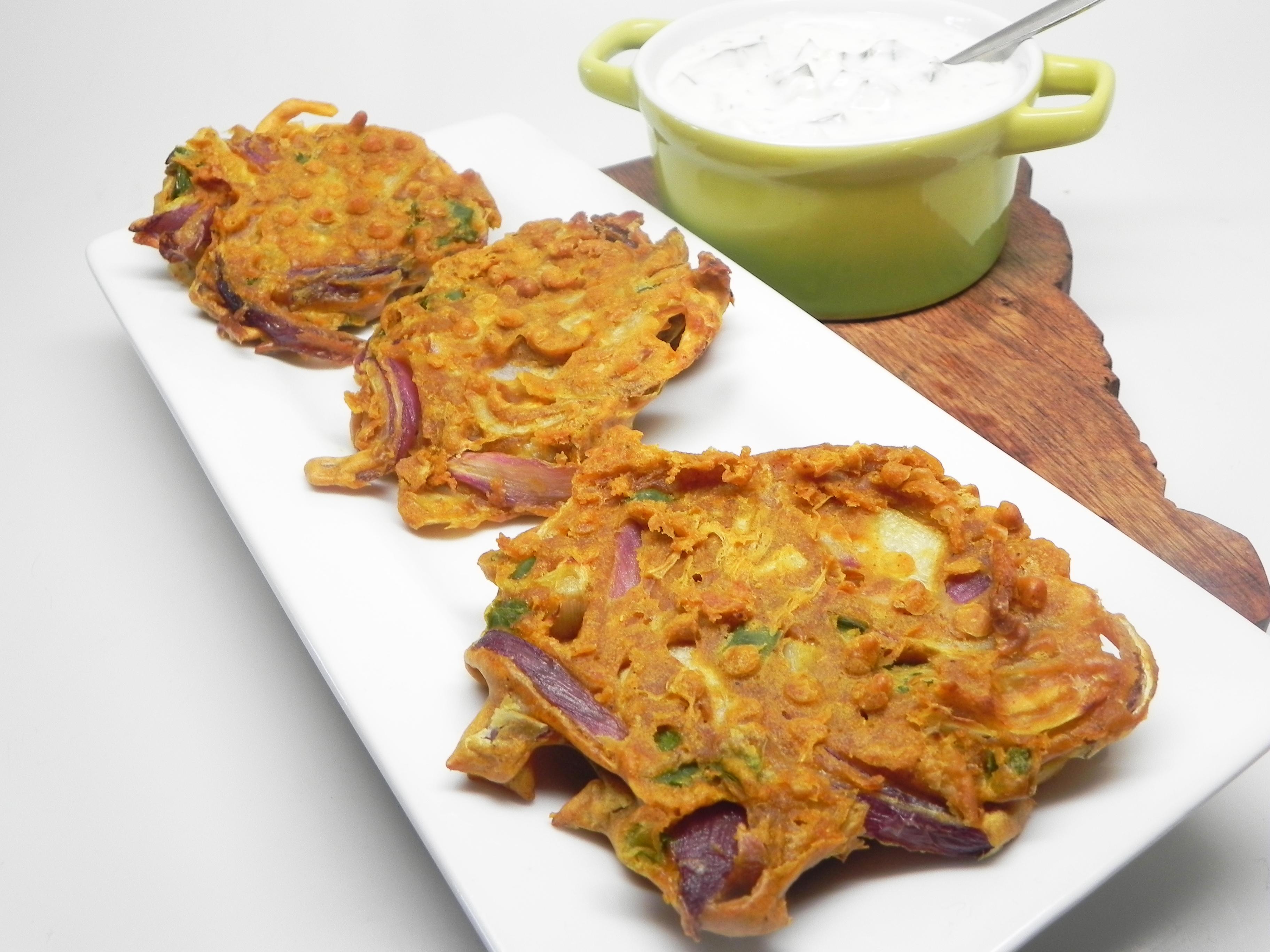 Air Fryer Onion Bhaji
