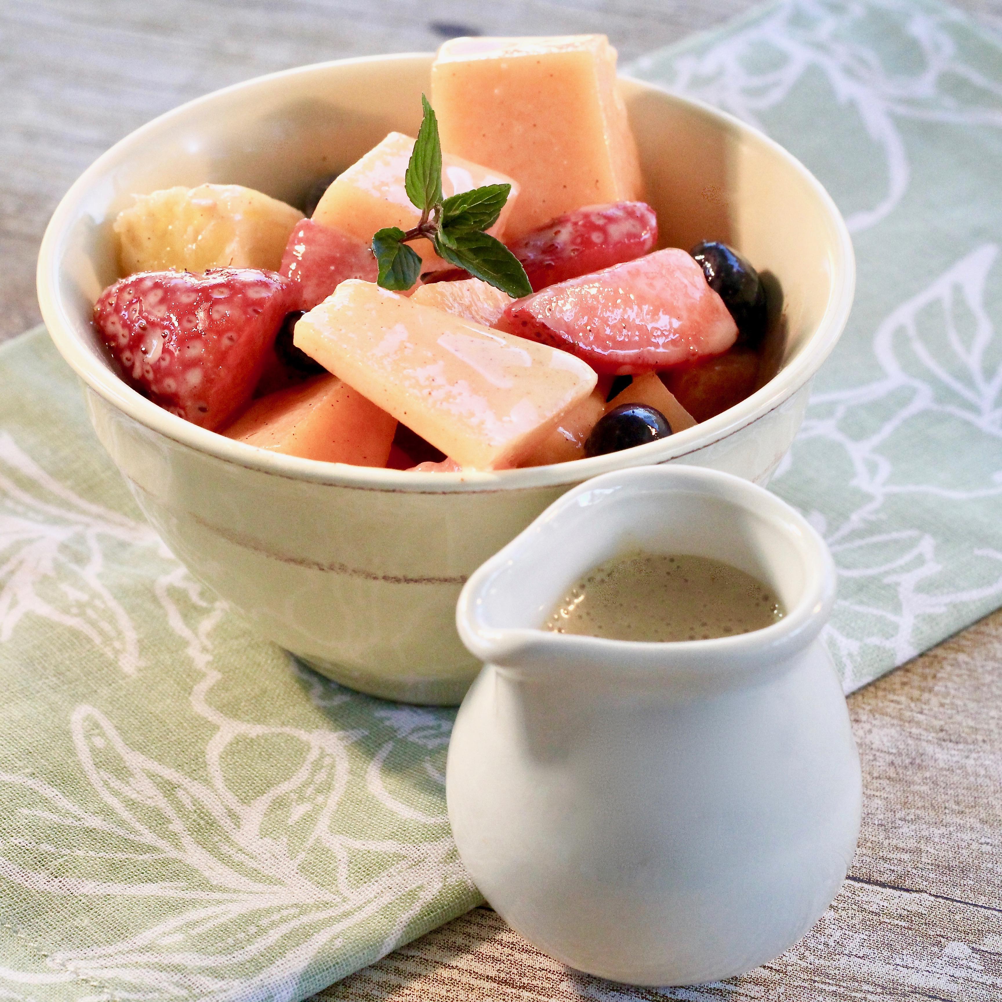 Sweet Dressing For Fruit Salad