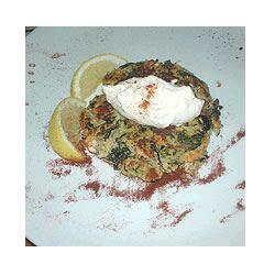 Moroccan Salmon Cakes with Garlic Mayonnaise ALYSSAM