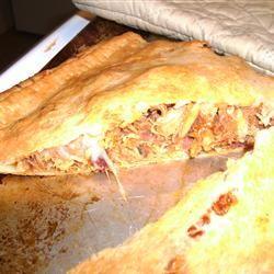 BBQ Chicken Calzones CupcakePolly