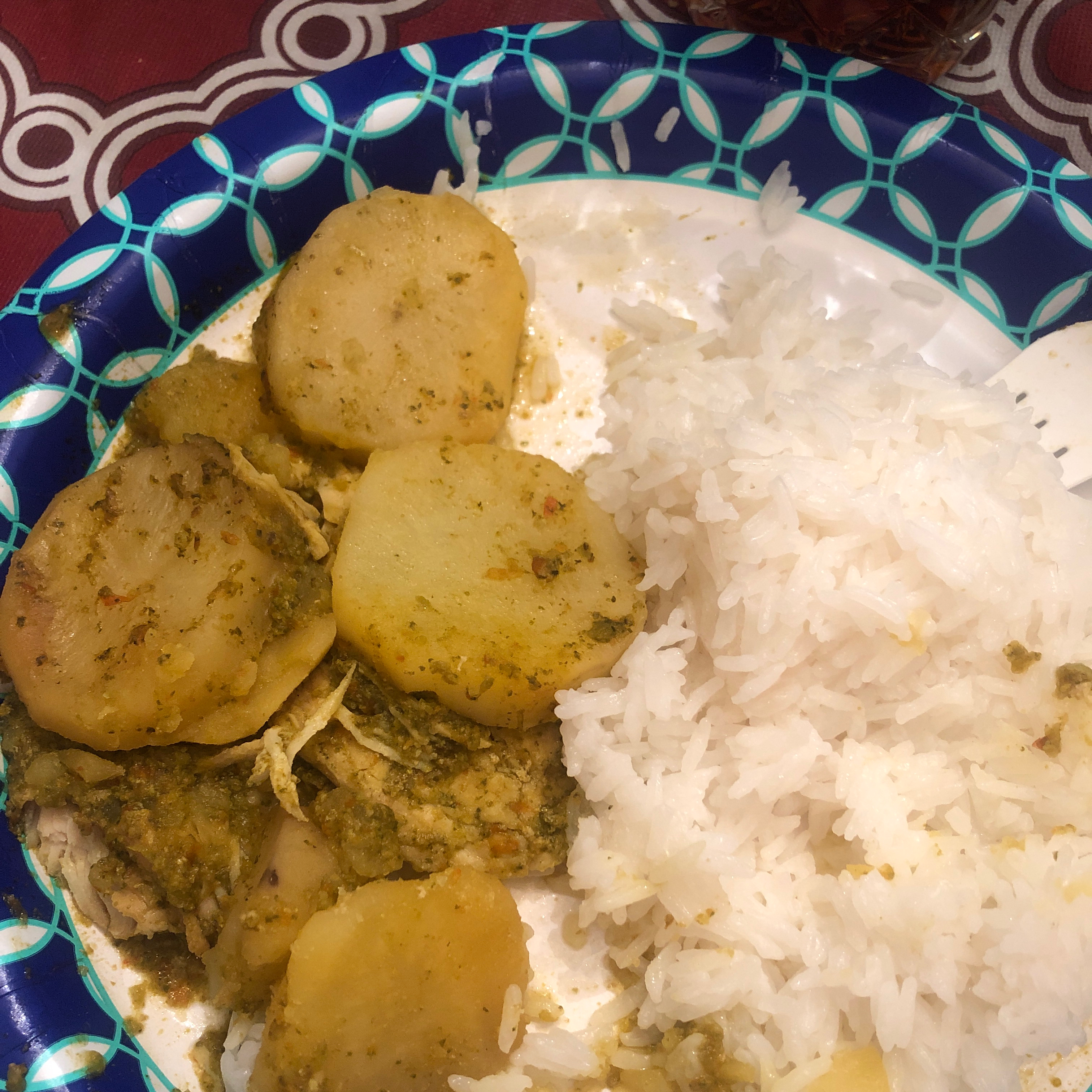 Pollo (Chicken) Fricassee from Puerto Rico Jackie Cooper