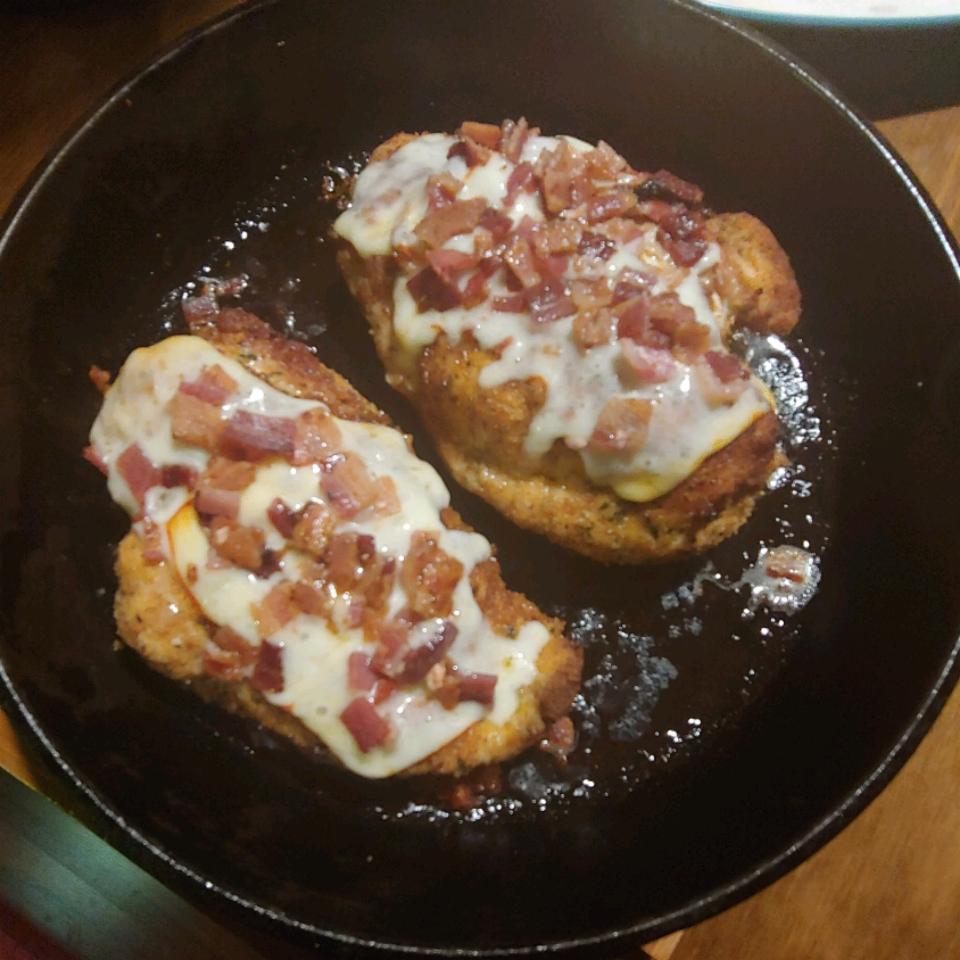 Muenster-Bacon Stuffed Chicken Breast