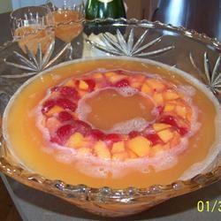 Champagne Peach Punch Elisa