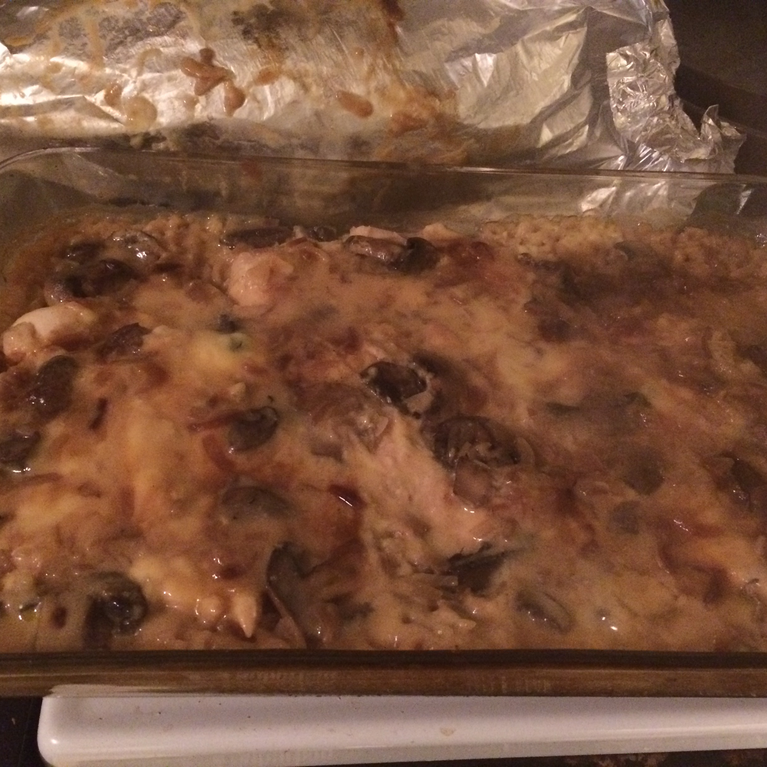 Easy and Delicious Chicken and Rice Casserole LesleyS