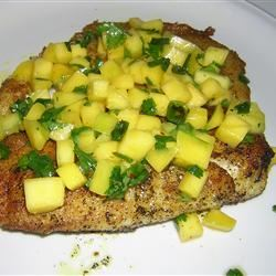 Curried Tilapia with Mango Salsa BIOTERP