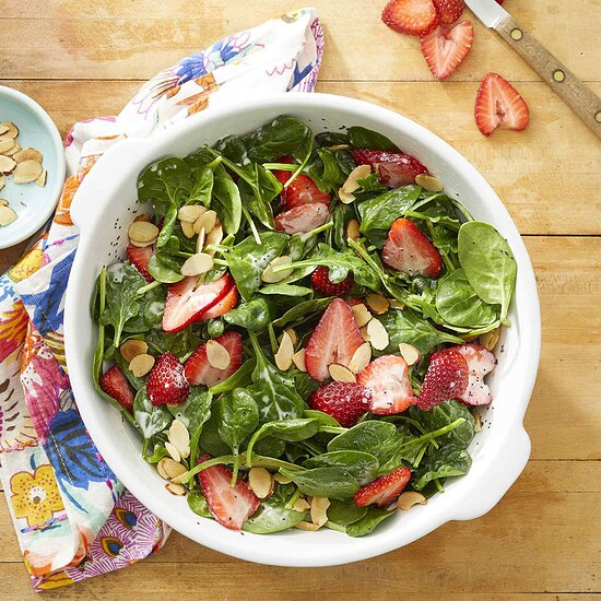 Spinach & Strawberry Salad with Poppy Seed Dressing Carolyn Casner